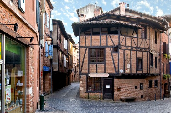 Альби /Albi, Самые красивые города Франции