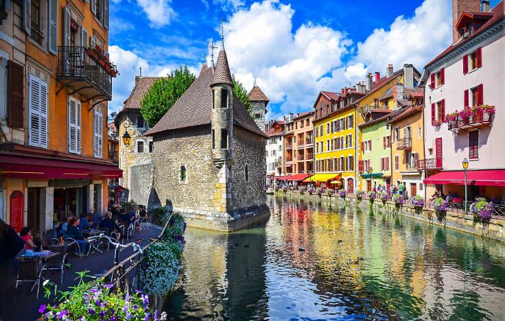 Анси / Annecy, Самые красивые города Франции