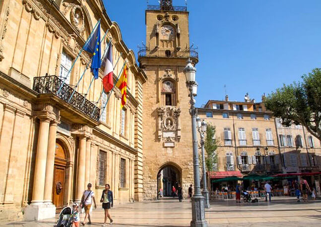 Экс-ан-Прованс Aix-en-Provence, Самые красивые города Франции