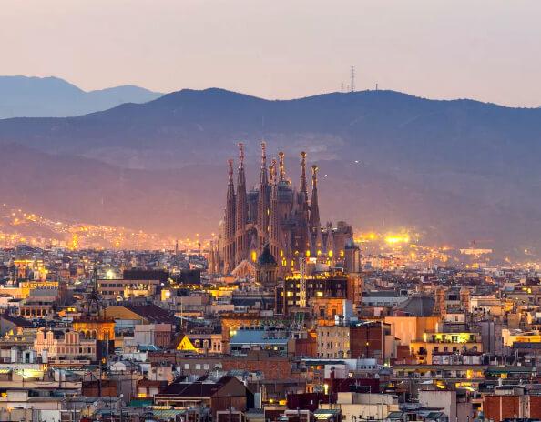 Барселона /Barcelona, Самые красивые города Испании