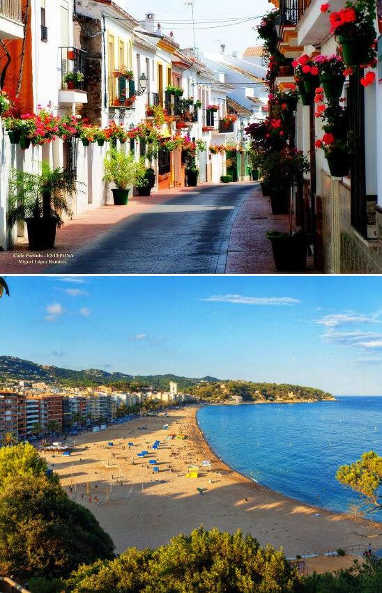 Эстепона /Estepona, Самые красивые города Испании