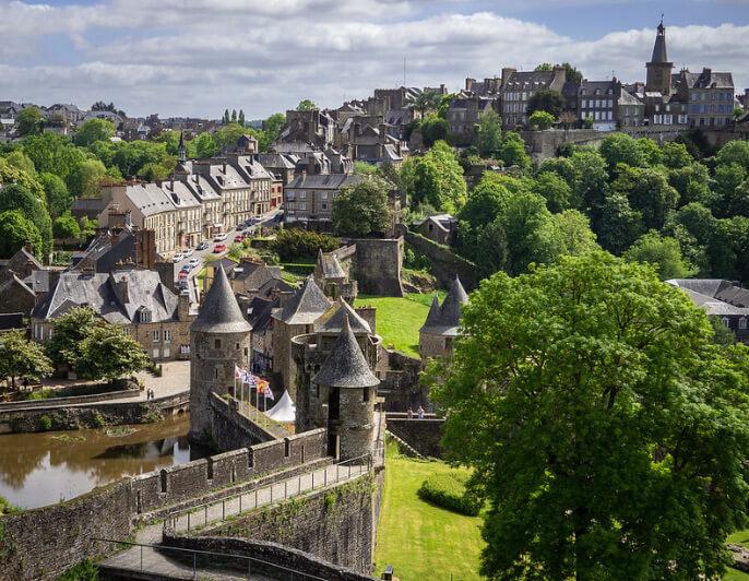 Фужер /Fougères, Самые красивые города Франции