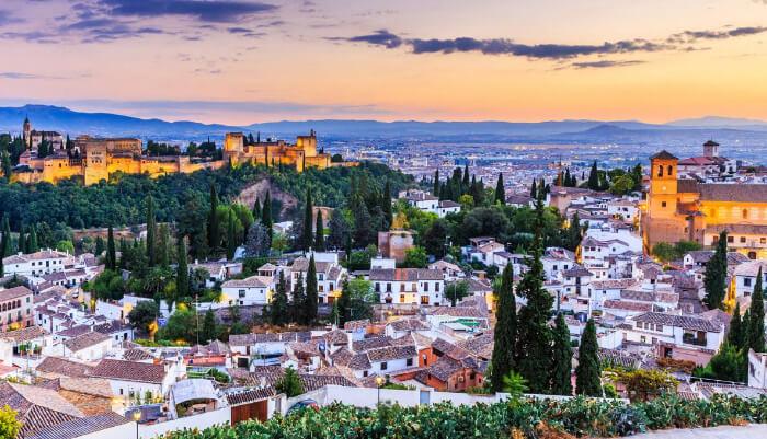 Гранада /Granada, Самые красивые города Испании