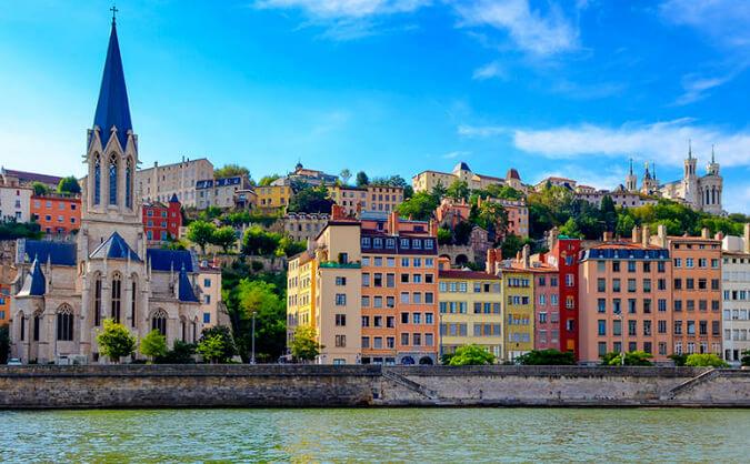 Лион /Lyon, Самые красивые города Франции