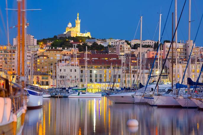Марсель /Marseille, Самые красивые города Франции