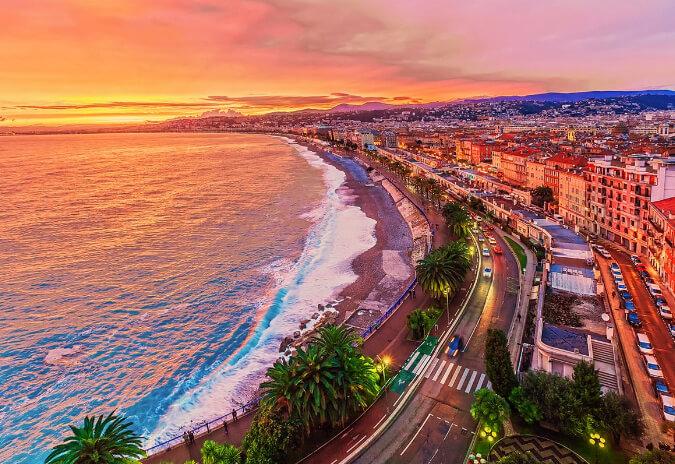 Ницца /Nice, Самые красивые города Франции