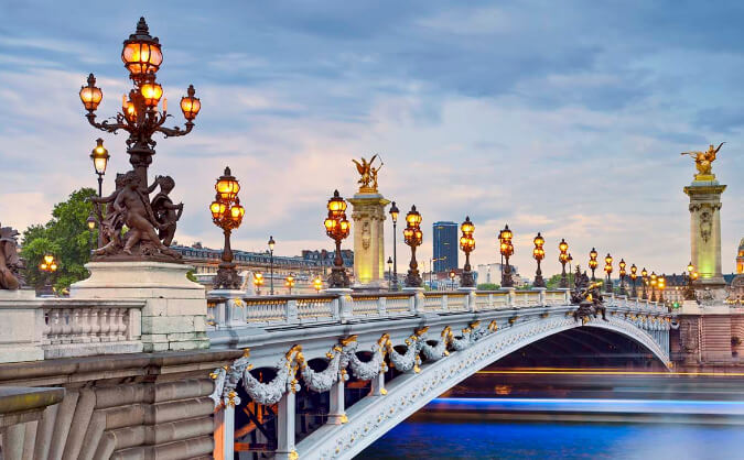 Париж /Paris, Самые красивые города Франции