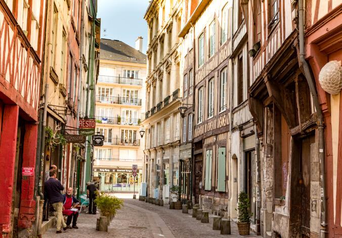Руан /Rouen Самые красивые города Франции