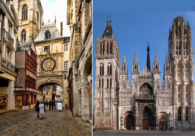Руан /Rouen, Самые красивые города Франции