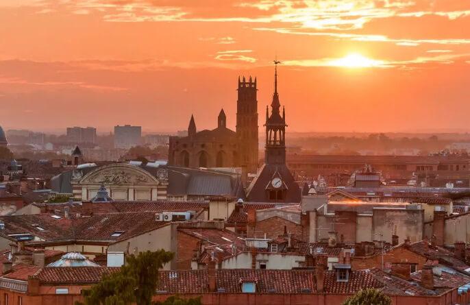 Тулуза /Toulouse, Самые красивые города Франции