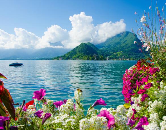 Lac d'Annecy / Анси, Франция, Озера Европы