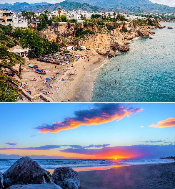 Коста-дель-Соль,исп. Costa del Sol, Лучшие курорты Испании