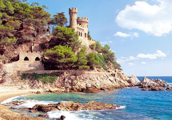 Крепость Lloret de Mar, , Лучшие курорты Испании