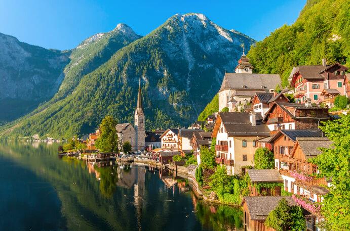 Hallstätter See / Хальштеттер-Зее, Австрия, Озера Европы