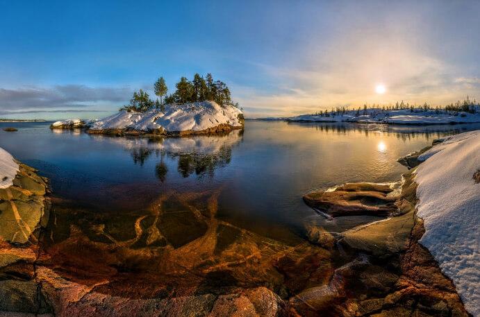 Ладожское озеро, Россия, Озера Европы