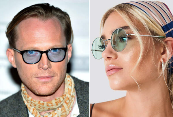 Очки со светлыми стёклами, Cолнцезащитные очки модные в 2019