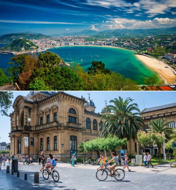 Сан-Себастьян, Лучшие курорты Испании