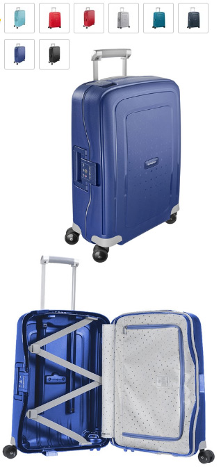 Samsonite S'Cure DLX 34 л