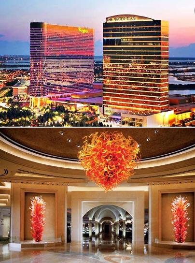 Borgata Hotel Casino & Spa (Атлантик-Сити, США), Самые большие и красивые казино мира