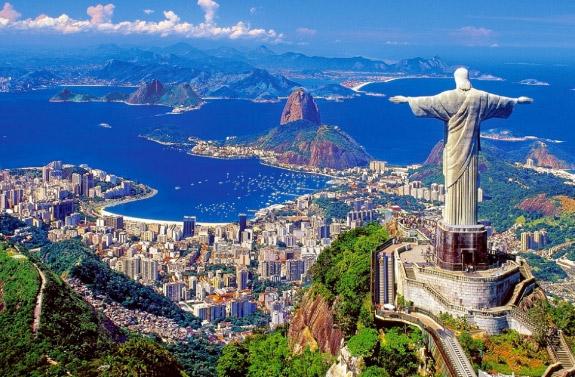 Бразилия, Куда поехать без визы в 2020. Отдых за границей без визы 2020