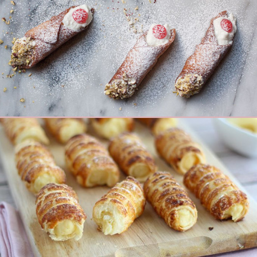 Итальянские трубочки Cannoli. лучшие итальянские десерты
