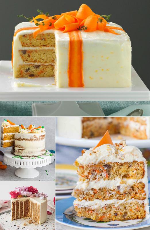 Американский морковный торт, Популярные торты. Самые вкусные торты мира. Фото и история.