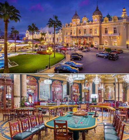 Казино Монте-Карло, Монако – самое известное казино, , Самые большие и красивые казино мира