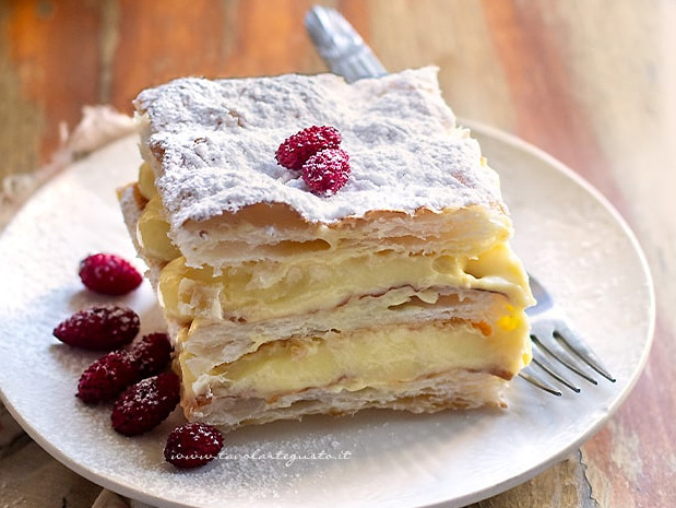 Наполеон, La torta millefoglie. лучшие итальянские десерты