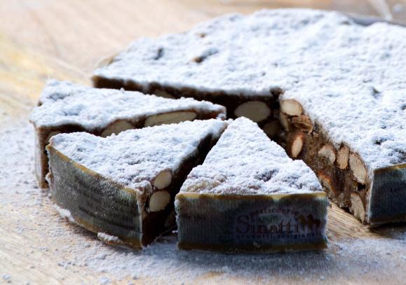 Panforte - Итальянский ореховый торт. лучшие итальянские десерты