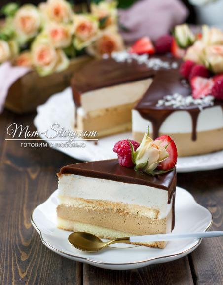 Птичье молоко, Популярные торты. Самые вкусные торты мира. Фото и история.