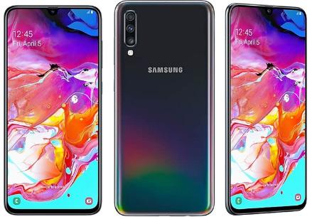 SamsungGalaxyA70, Смартфоны до 25000. Рейтинг лучших в 2019.