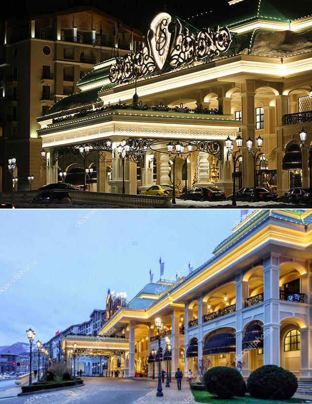 Казино Сочи (Адлерский район) - самое большое казино в Сочи,  Самые большие и красивые казино мира