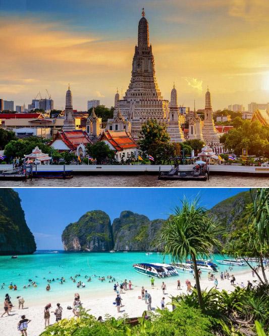 Таиланд, Куда поехать без визы в 2020. Отдых за границей без визы 2020