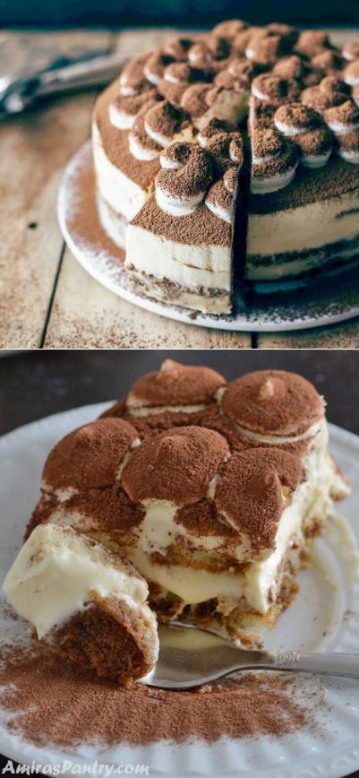 Тирамису, Популярные торты. Самые вкусные торты мира. Фото и история.
