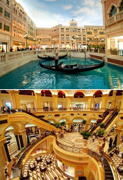 Venetian Macao (Макао), Самые большие и красивые казино мира