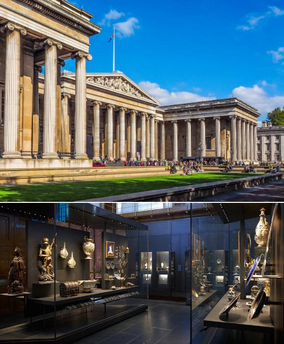Британский музей / British Museum. достопримечательности Англии