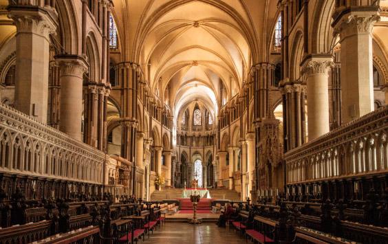 Кентерберийский собор / Canterbury cathedral. достопримечательности Англии