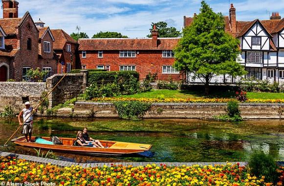 Городок Кентербери / Canterbury. достопримечательности Англии