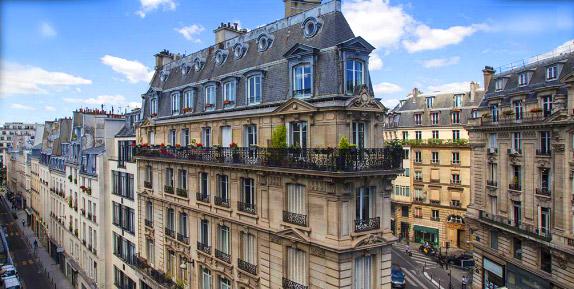Париж, недвижимость в Европе