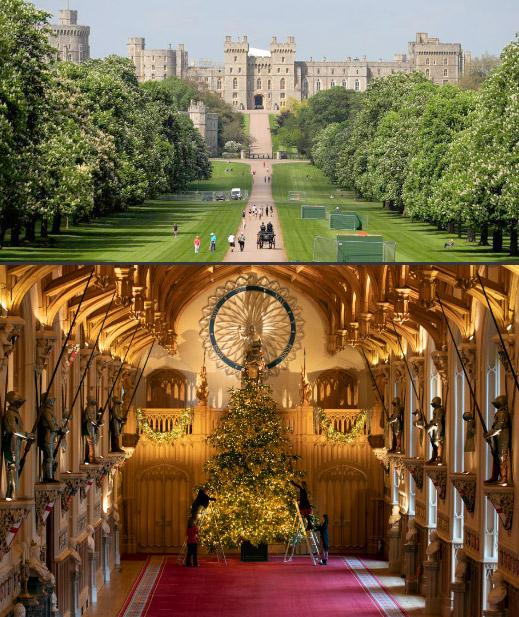 Windsor Castle / Виндзорский замок. достопримечательности Англии