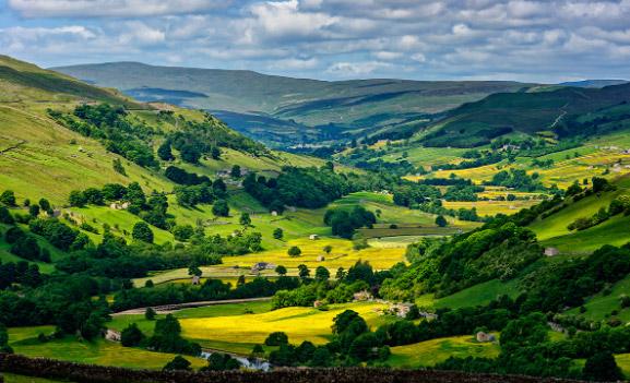 Национальный парк «Йоркширские Долины» / Yorkshire Dales National Park. достопримечательности Англии