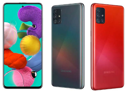 Samsung Galaxy A51, Лучшие смартфоны до 25000