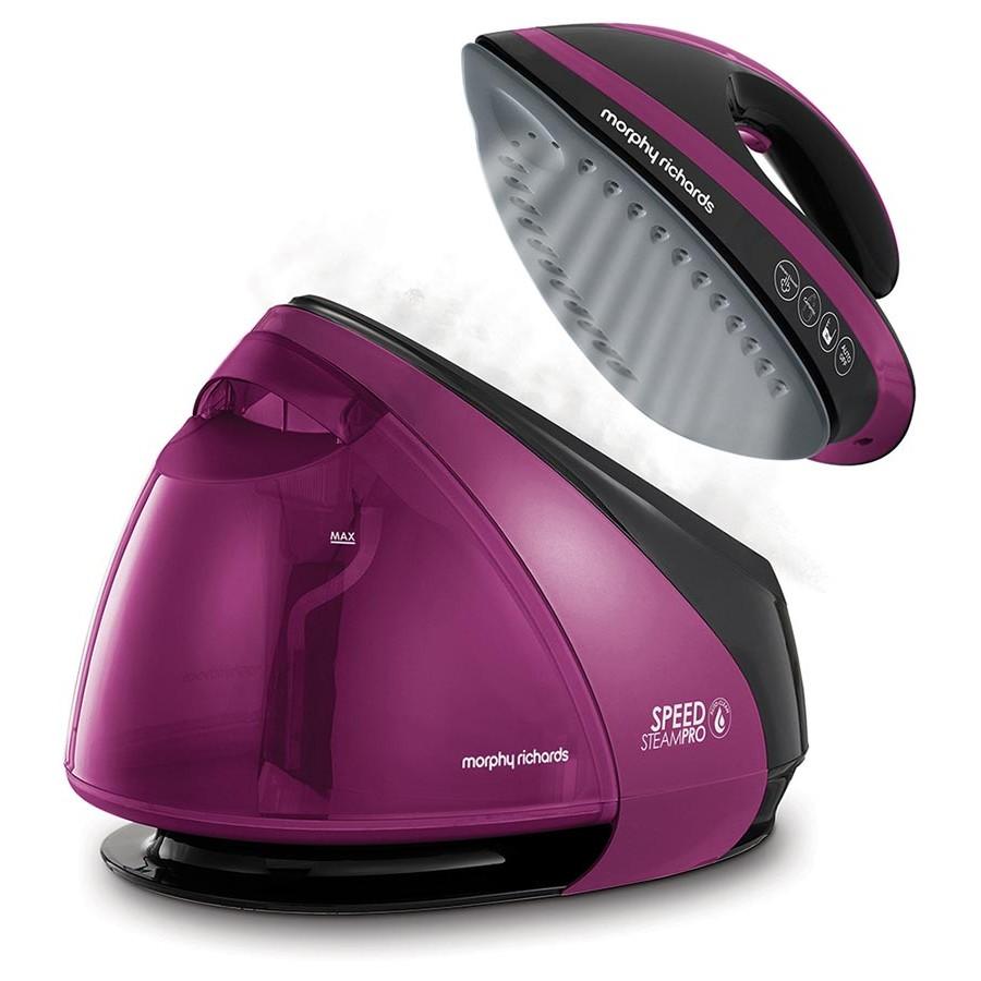 Утюг с парогенератором Morphy Richards S-Pro Purple 332102/332100, Лучшие парогенераторы 2020