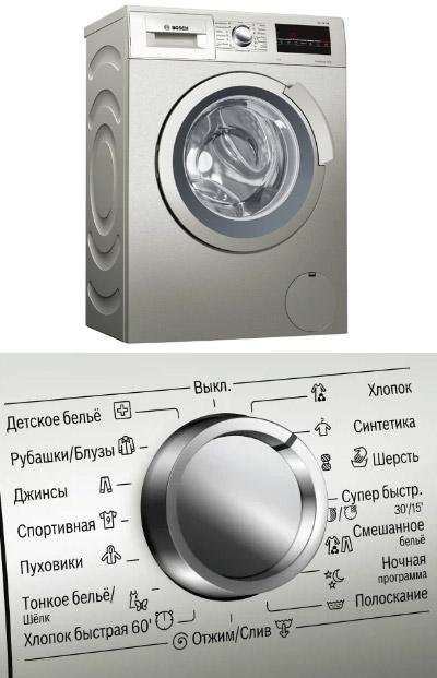 Bosch WLL 2426 S, Лучшие стиральные машины 2020