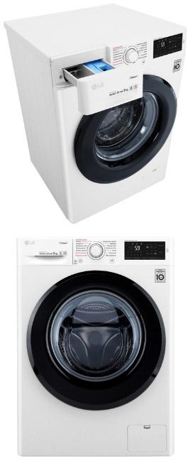 LG Steam F4M5VS6W, Лучшие стиральные машины 2020