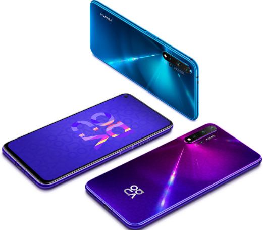 HUAWEI Nova 5T. лучшие смартфоны 2020 до 25000