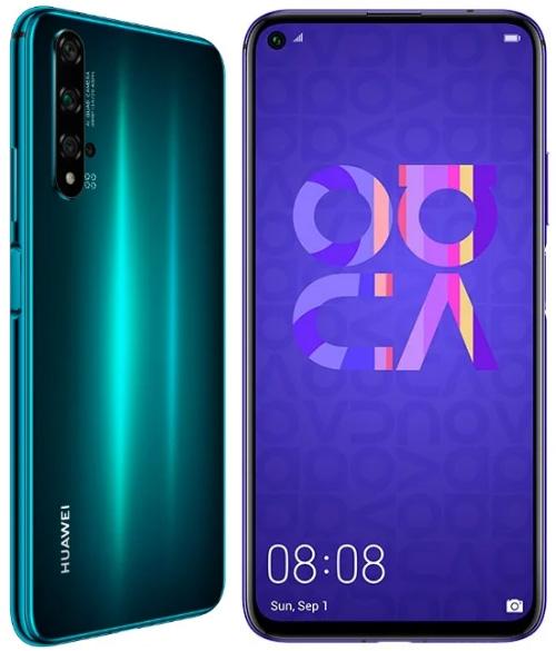 HUAWEI Nova 5T 6/128 Гб, Рейтинг смартфонов 2021 до 25000