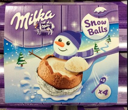 Milka Snowballs, Лучшие конфеты