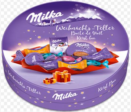 MILKA, Лучшие конфеты