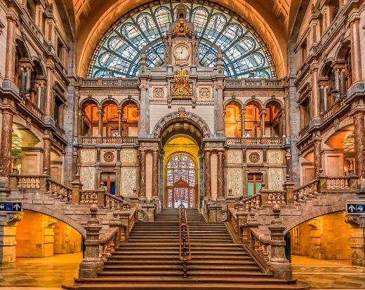Антверпен-Центральный (Бельгия), Самые красивые вокзалы мира